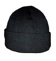 Шапка вязанная (черная)