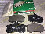 Колодки тормозные передние Ваз 2108 2109 21099 2113 2114 2115 Ferodo Target зеленые, фото 3