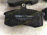 Колодки тормозные передние Ваз 2108 2109 21099 2113 2114 2115 Ferodo Target зеленые, фото 4