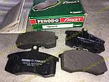 Колодки тормозные передние Ваз 2108 2109 21099 2113 2114 2115 Ferodo Target зеленые, фото 6