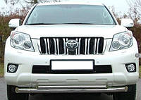 Защита передняя, дуга по бамперу двойная Toyota Land Cruiser Prado 150