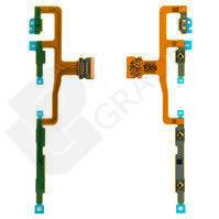 Шлейф для Sony C6502 L35h Xperia ZL/C6503/C6506, с кнопкой включения, с кнопками регулировки громкости