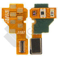 Шлейф для Sony ST25i Xperia U, c датчиком приближения, с датчиком освещенности, с контактами разъема под наушники