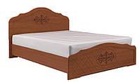 Кровать Лючия орех светлый