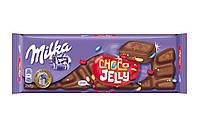 Шоколад молочный Milka Choco Jelly 250 г. Швейцария!