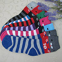 Носки для девочек ТОНКАЯ МАХРА (в обувь) (32-37 р.). Детские  носки, носочки махровые  для детей , фото 1
