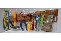 Детский набор инструментов на поясе 15 предметов, фото 1