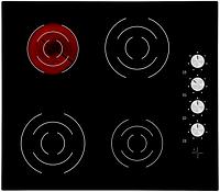 Sistema V 6003 K-03 (600 мм.) электрическая варочная поверхность, черная стеклокерамика