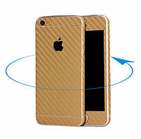 Карбоновая пленка для iPhone 5 5S SE, фото 1