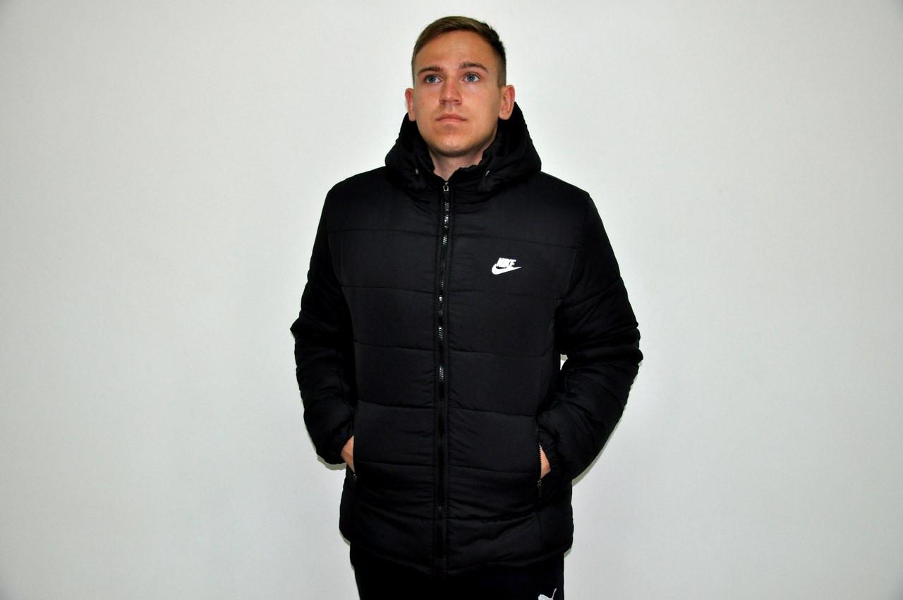 07e1b6c0 Зимняя куртка парка NIKE для мужчин. Теплая куртка. Отличное качество.  Флисовая подкладка.