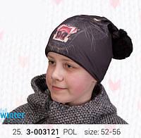 Шапка для мальчика р.52-56