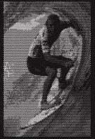 """Художественная перфорация металла картина """"Серфинг 1"""" Панно (декор), фото 1"""