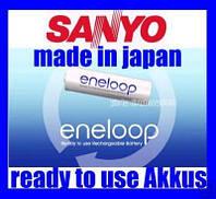 Аккумулятор ААA Sanyo Eneloop Japan
