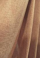 Штора мешковина - лен, цвет бежевый