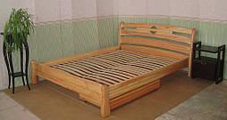 """Кровать """"Каприз"""". Массив дерева - ольха. 1"""