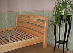 """Кровать """"Каприз"""". Массив дерева - ольха. 2"""