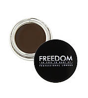 Помадка для бровей Freedom Makeup Pro Brow Pomade -DARK BROWN