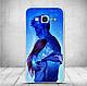 Силиконовый бампер для Samsung J200 Galaxy J2 с картинкой четыри туза, фото 7
