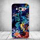 Силиконовый бампер для Samsung J200 Galaxy J2 с картинкой четыри туза, фото 6