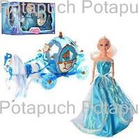 Детский игровой набор Карета и Кукла М218А