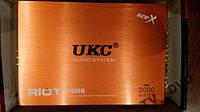 Усилитель звука автомобильный UKC 2000 Вт 4 КАНАЛА