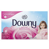 Downy Салфетки для белья Весенняя свежесть 40 шт. (Канада)