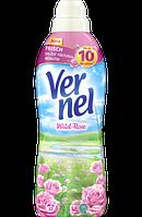 Vernel Ополаскиватель для белья Wild-Rose 1 л 33 стирки (Германия)