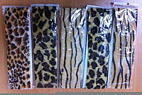 Стрейчевые повязки с леопардовым притом