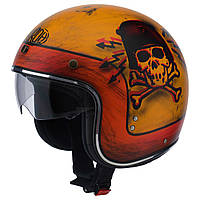 Шлем Airoh RIOT SKULLBOY  matt  -S- RISK72