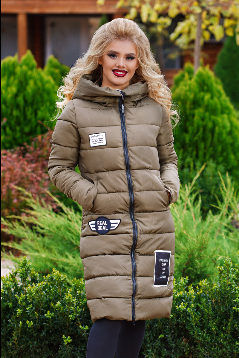"Д1661 Пальто зимнее на холлофайбере тм""valesiy"""