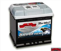 Автомобільний акумулятор SZNAJDER Silver Premium 555 35 (55A/год)/3458