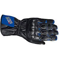 Мотоперчатки IXS Novara черный синий M