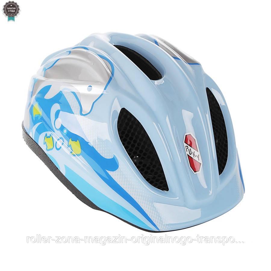 Шлем Puky M/L (48-59) blue голубой