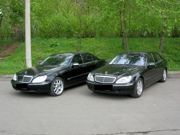 Аренда авто Мерседес W220 S500 с водителем
