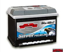 Автомобильный аккумулятор SZNAJDER Silver Premium 564 45 (64A/ч)/3456