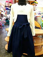 Нарядное платье с болеро для девочки