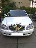 Аренда авто Мерседес 220 белый, фото 3
