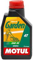 Моторное масло минеральное для сельскохозяйственной техники Motul Garden 4T 30, 1л