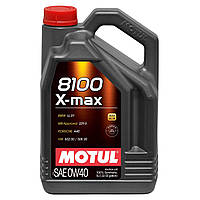 Моторное масло синтетика Motul 8100 X-Max 0W40, 4л