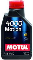 386401/4000 MOTION SAE 15W40 (1L)/102815