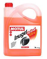Концентрат автомобильного антифриза Motul Inugel Optimal Ultra G12, 5л.