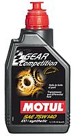 Синтетичне трансмісійне масло Motul Gear Competition 75W140, 1л