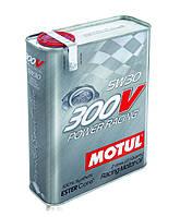 Моторное масло синтетическое для автоспорта Motul 300V Power Racing 5W30, 2л