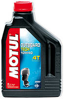 Моторное масло для лодочных моторов Motul Outboard Tech 4T 10W40, 1л