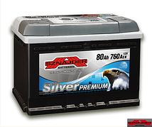 Автомобильный аккумулятор SZNAJDER Silver Premium 580 35 (80A/ч)/3453