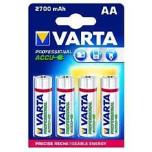 Никель-металгидридный аккумулятор Varta AA 2700mWh (1.2v) (упаковка-4шт.)