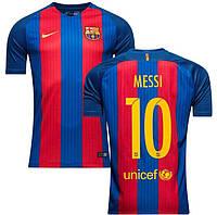 Футбольная форма Барселона Месси (Messi) 2016-2017 домашняя