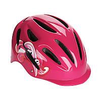 Детский защитный шлем Explore PICO PRO розовый М 56-58