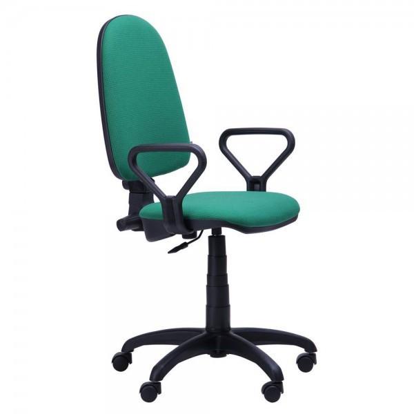 Кресло для персонала Престиж Люкс 50, подлокотники АМФ-1, TM AMF