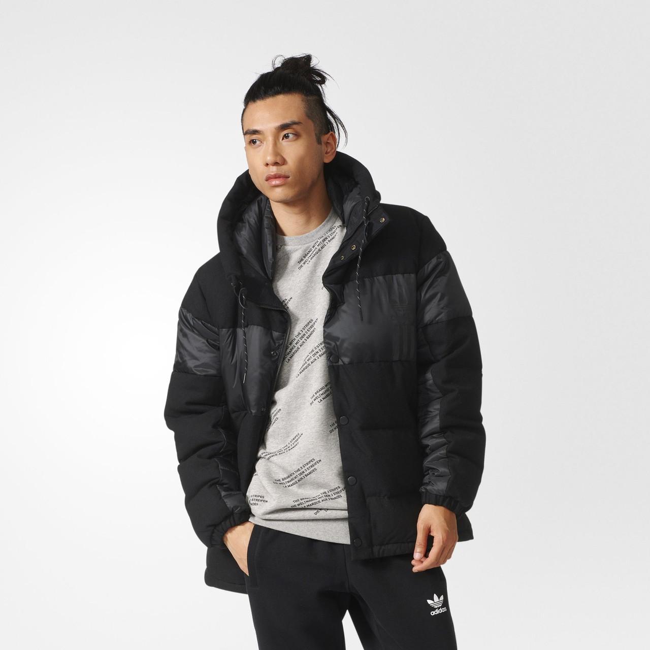 Купить Мужской пуховик Adidas Originals ID96 Wool (Артикул  AY9128 ... 66c8d3918d3